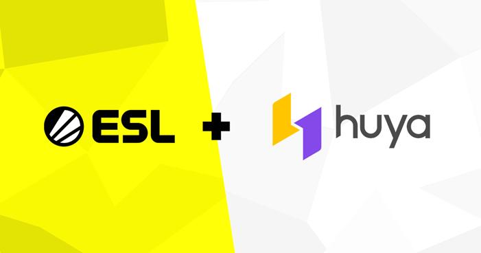 ESL och DreamHack i nytt avtal med Huya Inc. kring streaming av esport till kinesiska marknaden