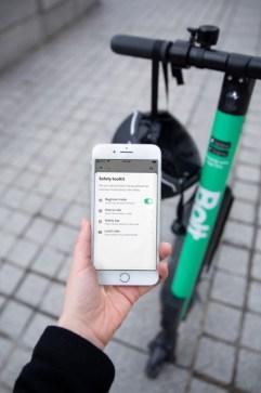 Bolt uppmuntrar till ansvarsfull användning av elsparkcyklar – lanserar nya verktyg i appen 1