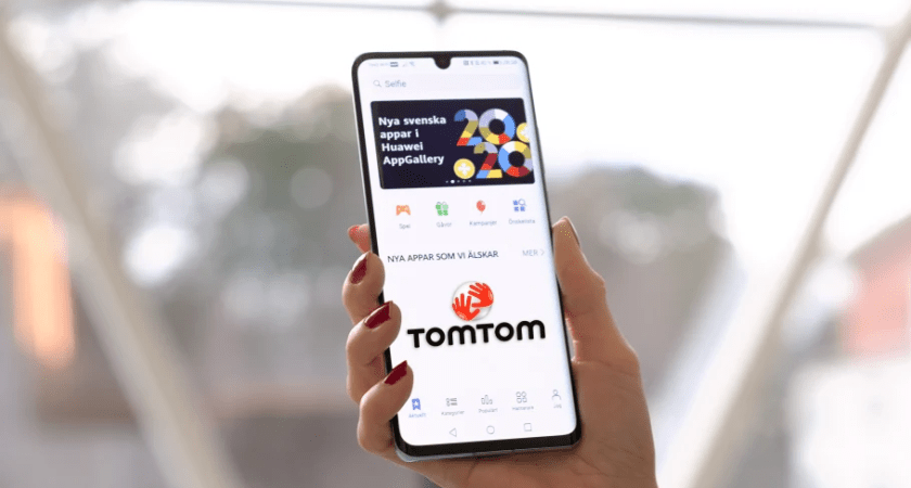 Huawei AppGallery växer med TomTom GO Navigation