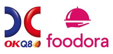 OKQ8 öppnar butiker hos foodora 1