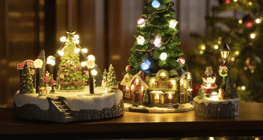 Rusta lyser upp julen