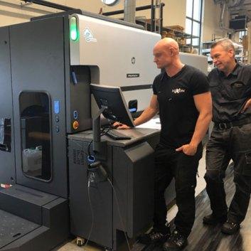Boxon först i Norden med ny digital tryckteknik. 1