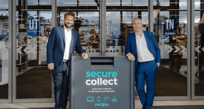 Elgiganten och Recipo vill göra det enklare att återvinna elektronik