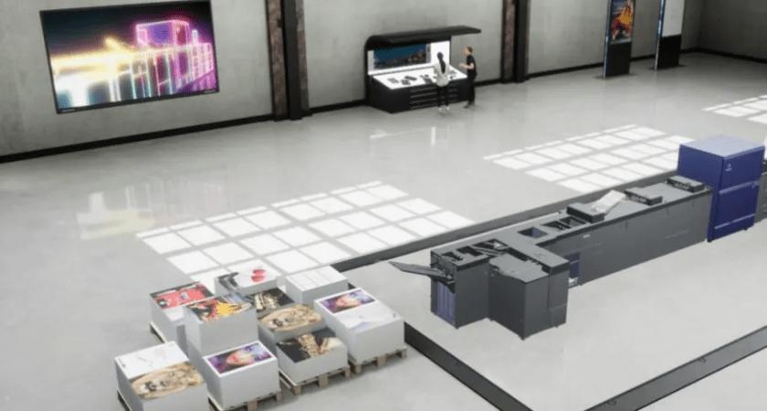 "Konica Minolta lanserar ""Virtual Showroom"""