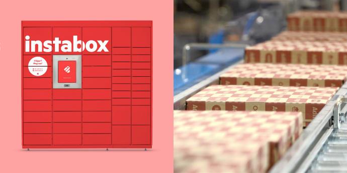 Instabox landar ny storkund när Adlibris kopplar på okrånglig frakt i hela landet