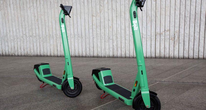Nya elsparkcyklar från Bolt