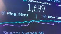 Telenor snabbast i Sverige i nytt 5G-test