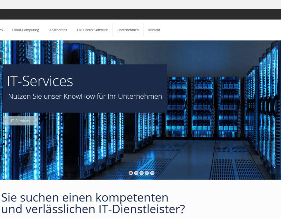Homepage IT-Systemhaus Krefeld INCAS