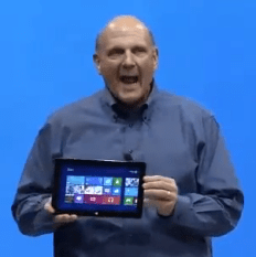 Steve Ballmer és a Surface Tablet