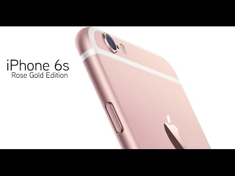 iPhone6srosegold