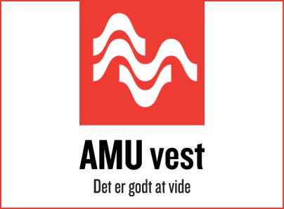 AMU Vest logo, kunder IT Univers