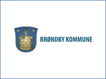 Brøndby Kommune logo, kunder IT Univers