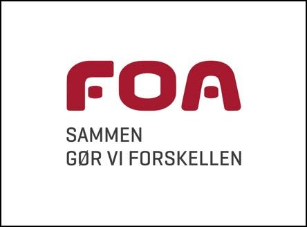 FOA logo, kunder IT Univers