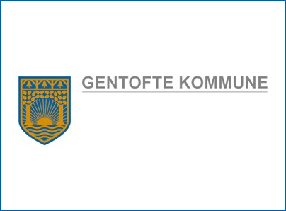 Gentofte Kommune logo, kunder IT Univers