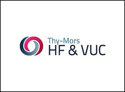 HF og VUC Thy-Mors logo, kunder IT Univers