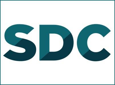 SDC logo, kunder IT Univers