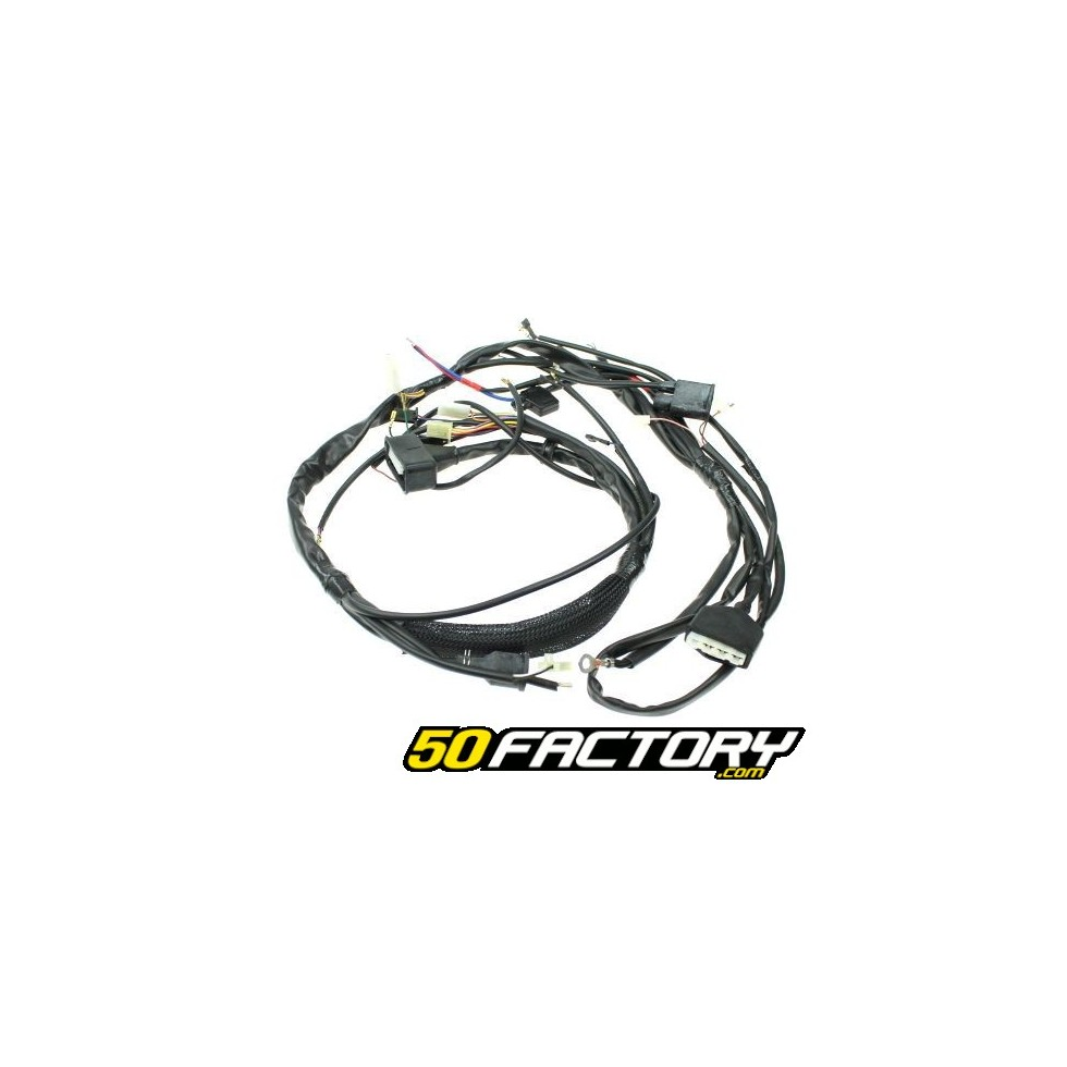 Cablaggio Yamaha dt, mbk xlimit, malaguti xsm e xtm v2