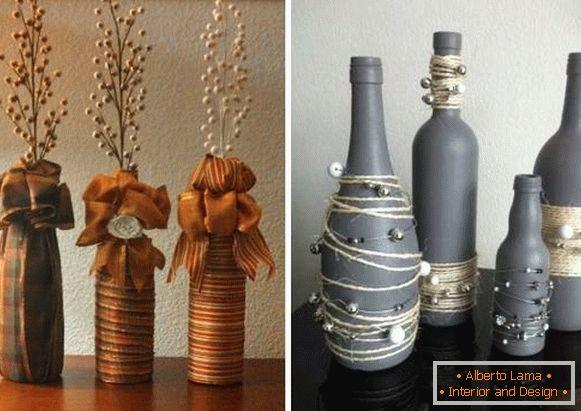 Vasi Di Bottiglie Con Le Proprie Mani 29 Foto Con Idee Per