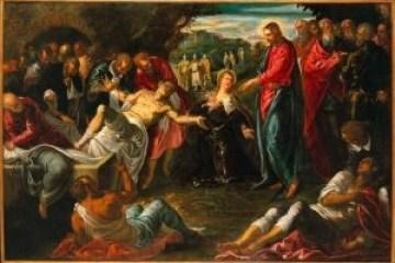 Resurrezione di Lazzaro - Jacopo Tintoretto