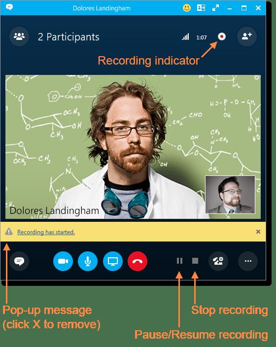 resume recording app