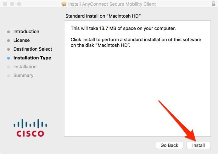 Mac VPN Install