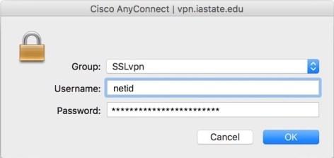 Cisco VPN Connect