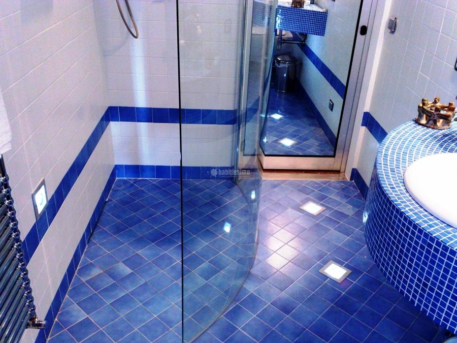 Foto Ristrutturazione Bagno BLU di Impresa Edile Tincu
