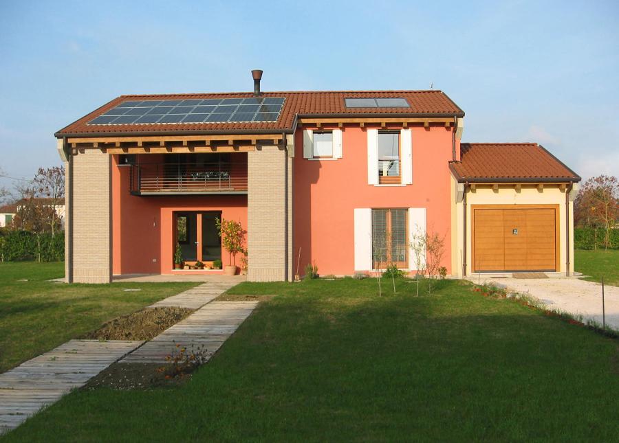 Foto Casa DLF Bioedilizia nella Campagna Veneta di