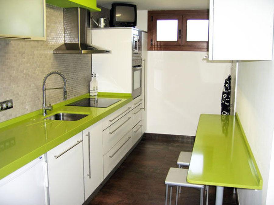 Foto Cucina Top Quarzo Silestone Verde di Arredamenti Lodi Carlo di Lodi Giampaolo 51927  Habitissimo