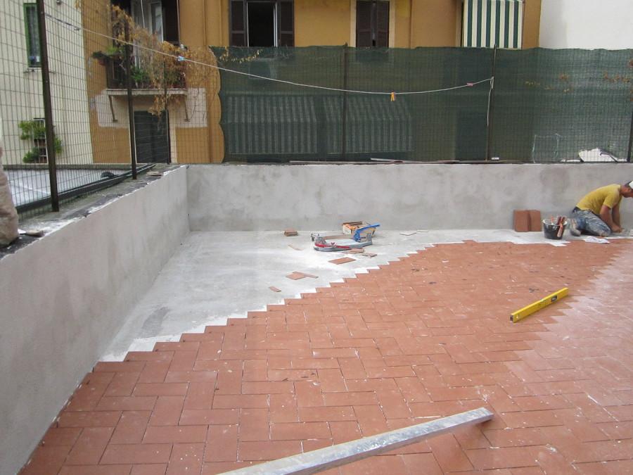 Foto Impermeabilizzazione Terrazzo e Posa Pavimento di