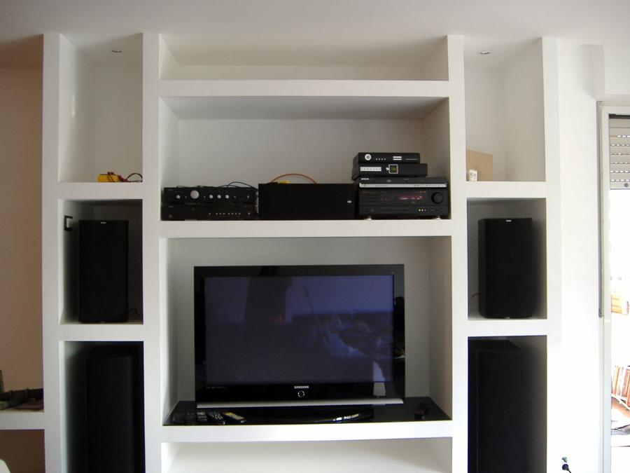 Clicca e scopri il modello 611 living e potrai impreziosire stanze moderne di ogni tipo. Parete Attrezzata In Cartongesso Immagini