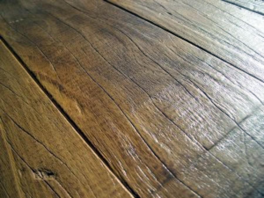 Foto Pavimentazione In Assi di Legno Vecchio di Agrifaber