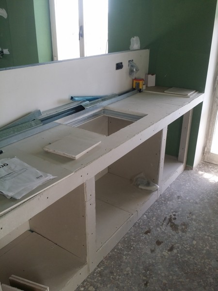 Foto Resine su Piano lavoro Cucina In Muratura di Impresa Ravizza 436458  Habitissimo