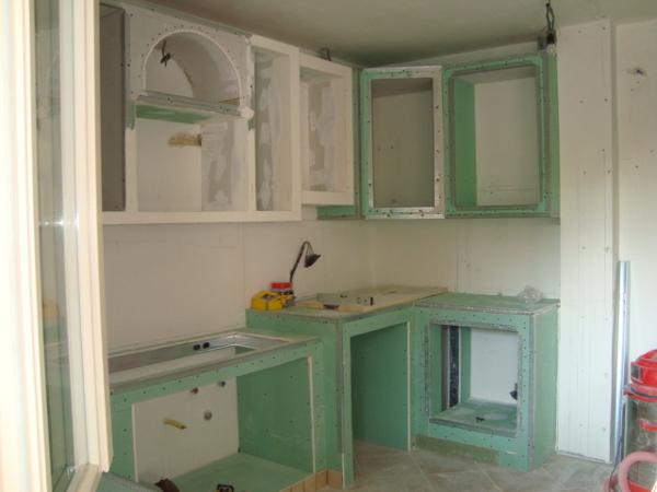 Foto Cucina In Muratura In Cartongesso Part3 di Iride Di