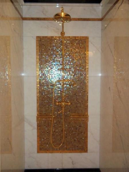 Foto Doccia Mosaico In Oro di Style House Ristrutturazioni 74292  Habitissimo