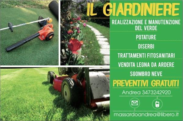 Foto Il Giardiniere Biglietto da Visita di Andrea 202385