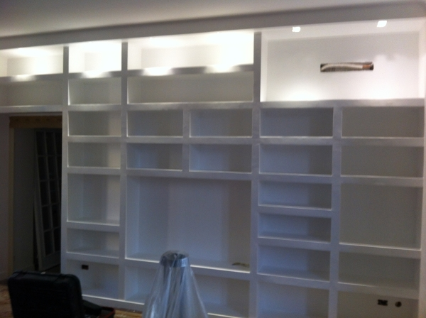 Foto Libreria In Cartongesso di Project  Management