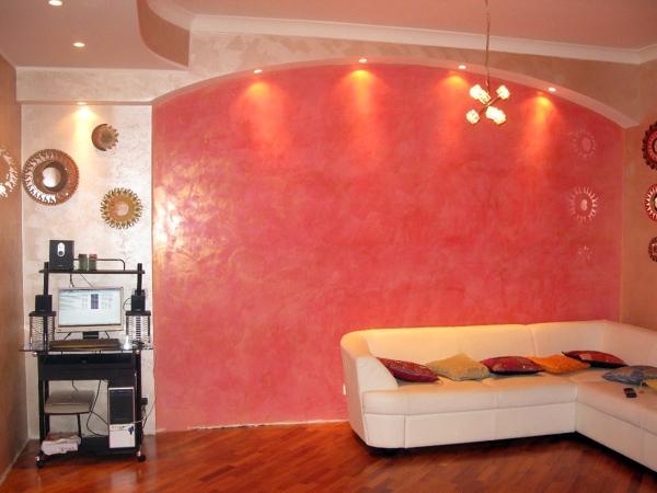 Foto Stucco Veneziano con Arco In Cartongesso di Edilsaba