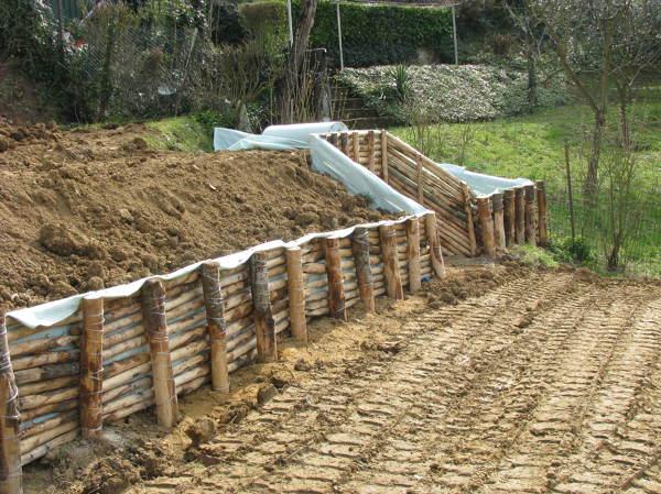Foto Viminata Per Terrazzamenti Giardini di Malugi Srl