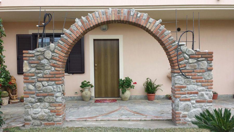 Realizziamo Archi di Misto Pietra e Mattoni  Idee
