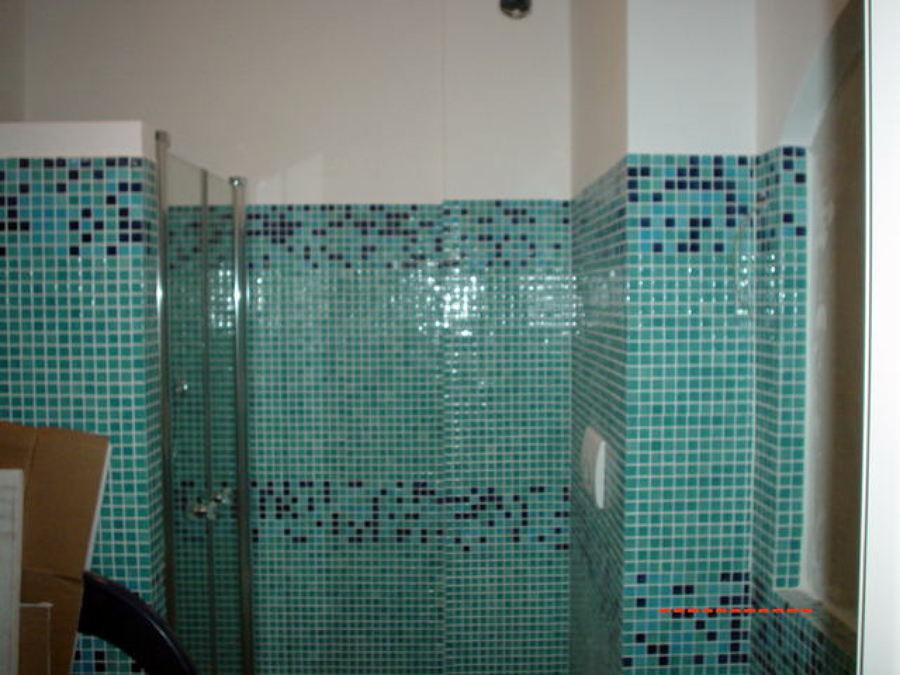Progetto di Ristrutturazione Bagno con Mosaico  Idee