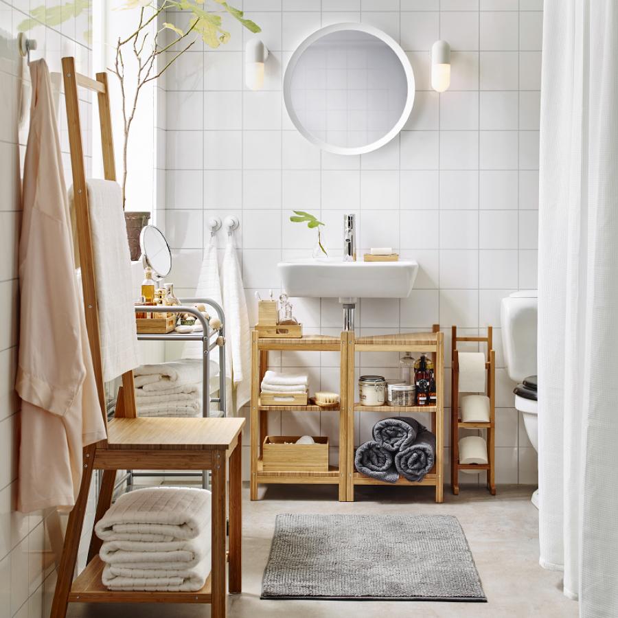 Pensile bagno da muro flaren ikea bianco come nuovo 2. 9 Mobili Bagno Ikea Da Non Perdere Per Guadagnare Spazio Idee Mobili
