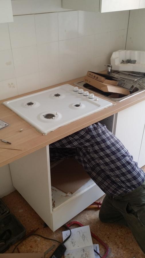 Progetto Montaggio Cucina Ikea e Allaccio Impianti  Idee Gas