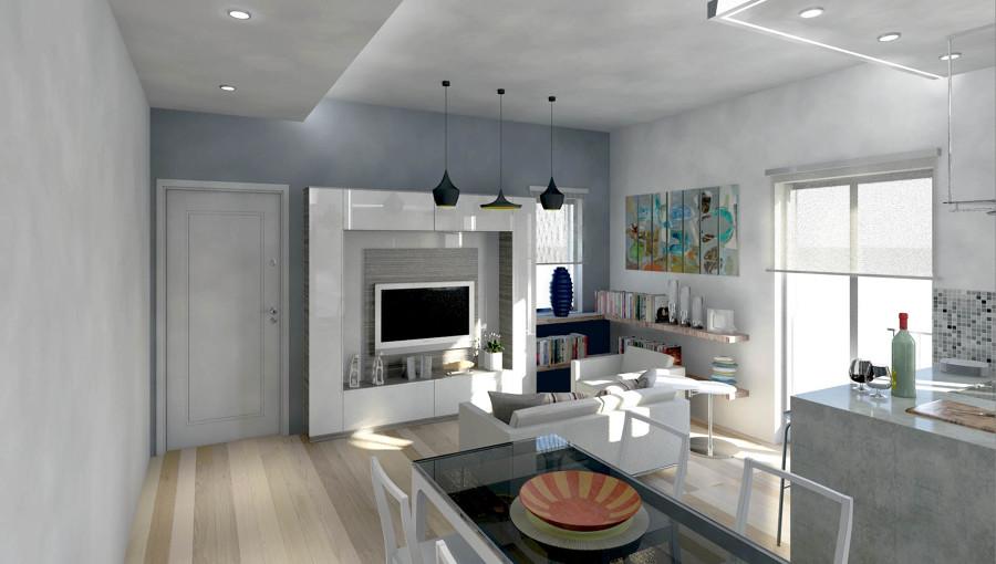 Foto Ingresso  Cucina  Soggiorno di Studio Romano