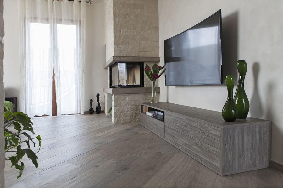 Villetta Moderna Arredata con Mobili Realizzati su Misura  Idee Ristrutturazione Casa