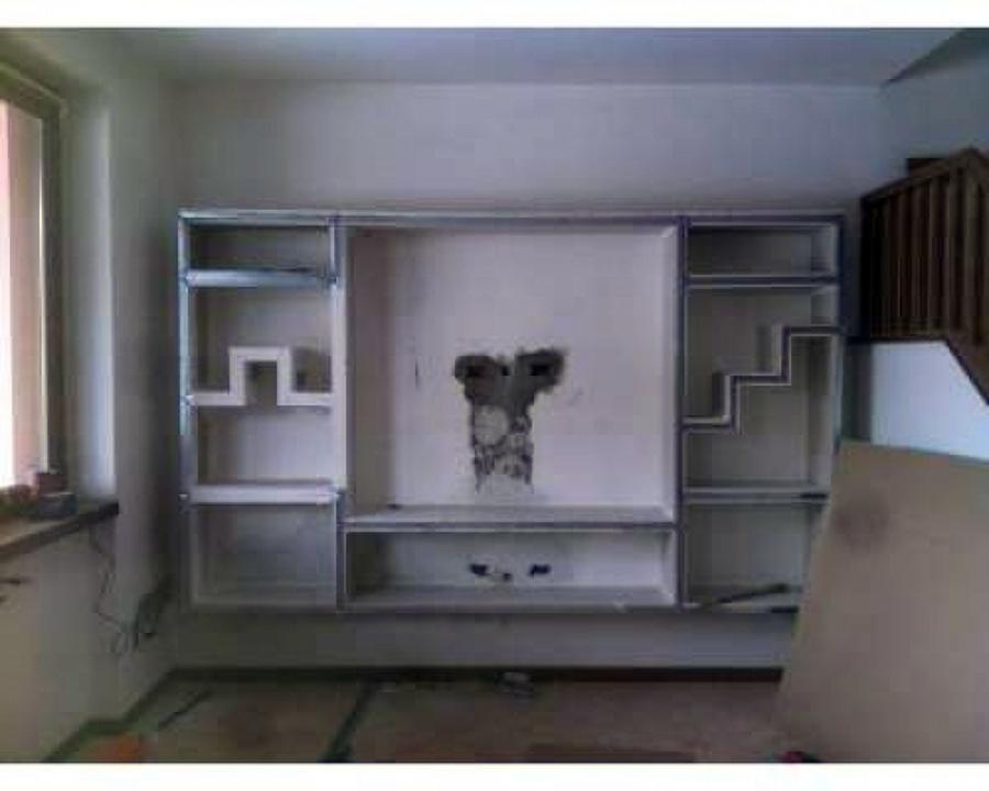 Con la nostre pareti da soggiorno potrai arredare il tuo soggiorno e renderlo invidiabile: Progetto Realizzazione Di Parete Attrezzata Idee Cartongesso