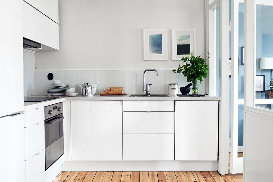 Cucina Piccola Come Sopravvivere  Idee Ristrutturazione Cucine
