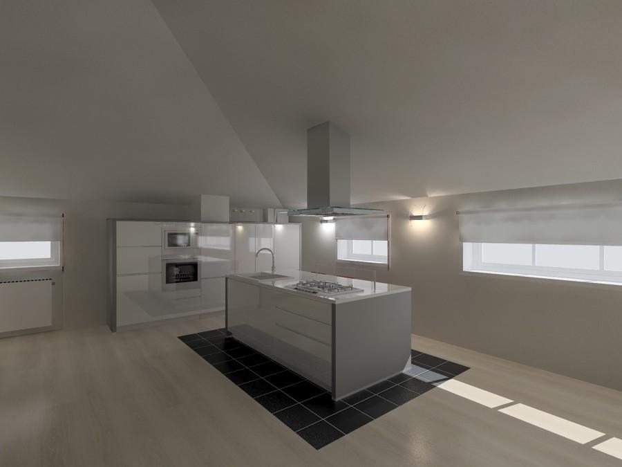 Cucina In Mansarda  Idee Interior Designer