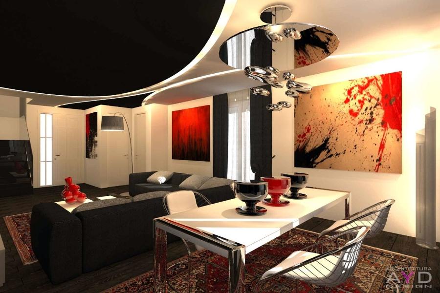 Foto Progetto Sala da Pranzo Studio Ayd Torino di Architetto Luca Giuseppe Piazza 128764