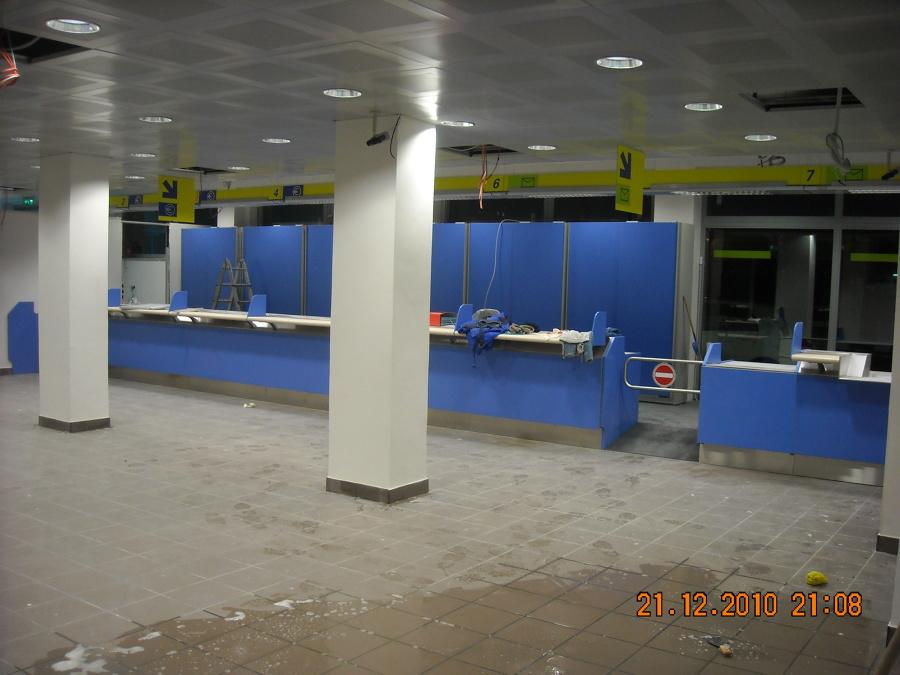 Realizzazione nuovo Ufficio Poste Italiane Livorno li
